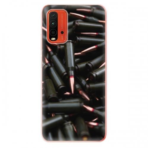Odolné silikonové pouzdro iSaprio - Black Bullet - Xiaomi Redmi 9T