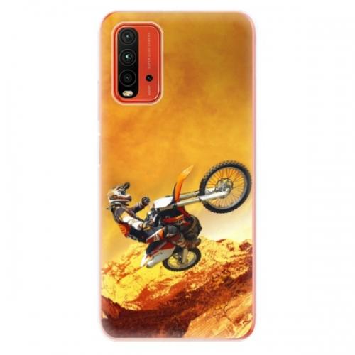 Odolné silikonové pouzdro iSaprio - Motocross - Xiaomi Redmi 9T