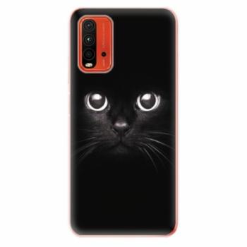 Odolné silikonové pouzdro iSaprio - Black Cat - Xiaomi Redmi 9T