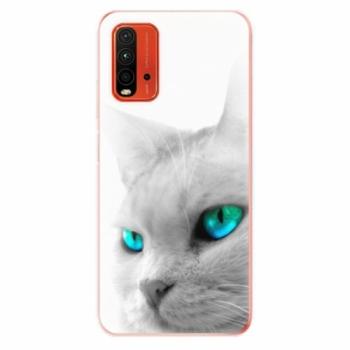 Odolné silikonové pouzdro iSaprio - Cats Eyes - Xiaomi Redmi 9T