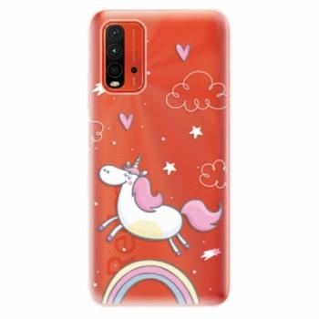 Odolné silikonové pouzdro iSaprio - Unicorn 01 - Xiaomi Redmi 9T