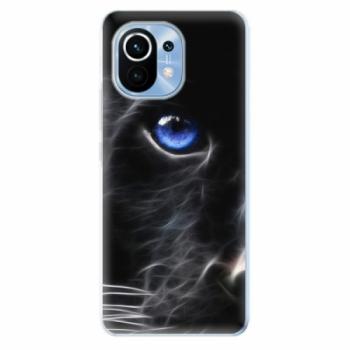 Odolné silikonové pouzdro iSaprio - Black Puma - Xiaomi Mi 11