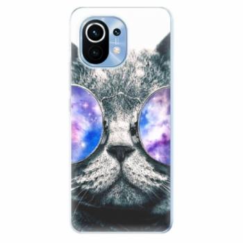 Odolné silikonové pouzdro iSaprio - Galaxy Cat - Xiaomi Mi 11