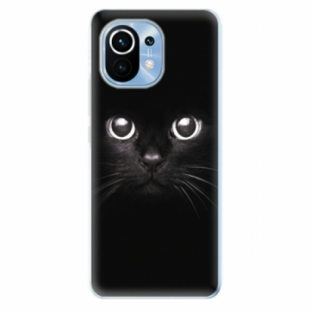 Odolné silikonové pouzdro iSaprio - Black Cat - Xiaomi Mi 11