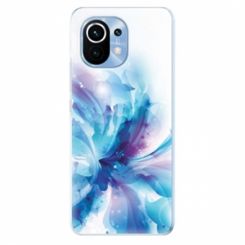 Odolné silikonové pouzdro iSaprio - Abstract Flower - Xiaomi Mi 11