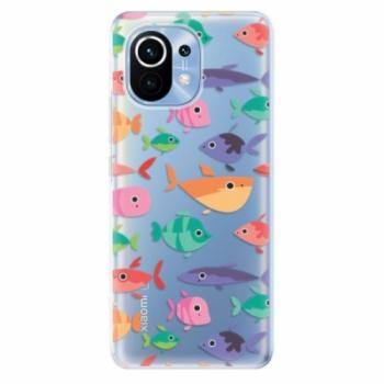 Odolné silikonové pouzdro iSaprio - Fish pattern 01 - Xiaomi Mi 11