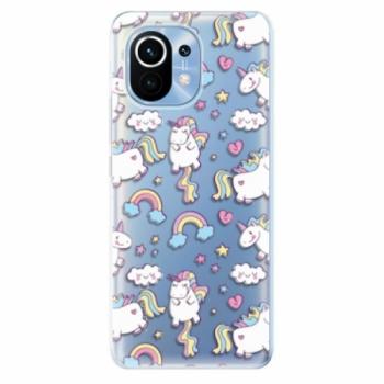 Odolné silikonové pouzdro iSaprio - Unicorn pattern 02 - Xiaomi Mi 11
