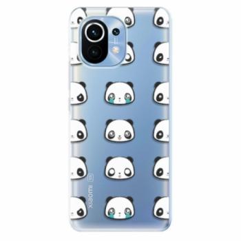 Odolné silikonové pouzdro iSaprio - Panda pattern 01 - Xiaomi Mi 11