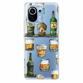 Odolné silikonové pouzdro iSaprio - Whisky pattern - Xiaomi Mi 11