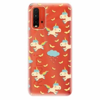 Odolné silikonové pouzdro iSaprio - Unicorn pattern 01 - Xiaomi Redmi 9T