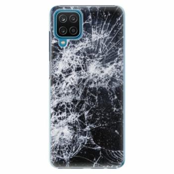 Plastové pouzdro iSaprio - Cracked - Samsung Galaxy A12