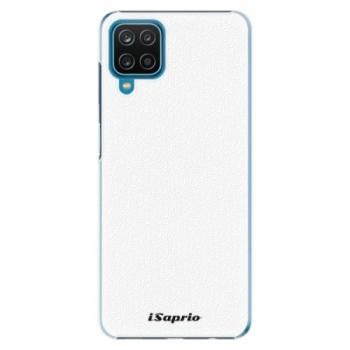 Plastové pouzdro iSaprio - 4Pure - bílý - Samsung Galaxy A12