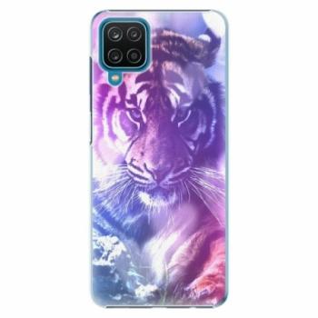 Plastové pouzdro iSaprio - Purple Tiger - Samsung Galaxy A12