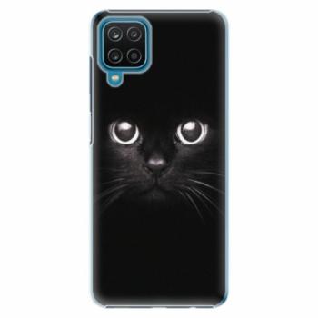 Plastové pouzdro iSaprio - Black Cat - Samsung Galaxy A12