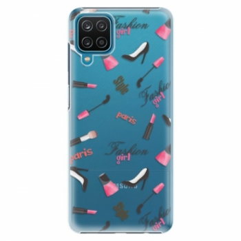 Plastové pouzdro iSaprio - Fashion pattern 01 - Samsung Galaxy A12