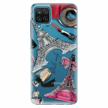 Plastové pouzdro iSaprio - Fashion pattern 02 - Samsung Galaxy A12