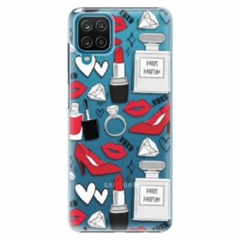 Plastové pouzdro iSaprio - Fashion pattern 03 - Samsung Galaxy A12