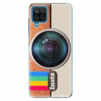 Plastové pouzdro iSaprio - Insta - Samsung Galaxy A12