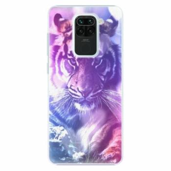 Plastové pouzdro iSaprio - Purple Tiger - Xiaomi Redmi Note 9