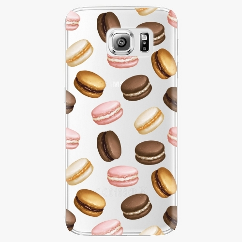 Plastový kryt iSaprio - Macaron Pattern - Samsung Galaxy S6 Edge