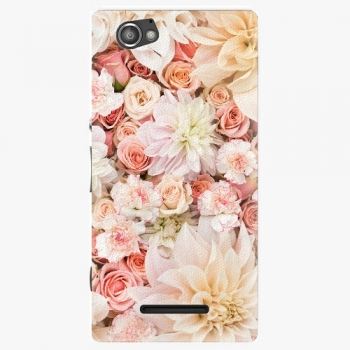 Plastový kryt iSaprio - Flower Pattern 06 - Sony Xperia M
