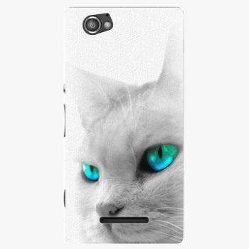 Plastový kryt iSaprio - Cats Eyes - Sony Xperia M