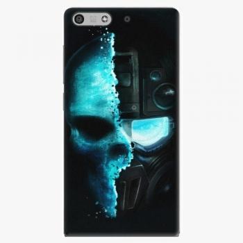 Plastový kryt iSaprio - Roboskull - Huawei Ascend P7 Mini