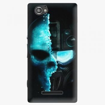 Plastový kryt iSaprio - Roboskull - Sony Xperia M