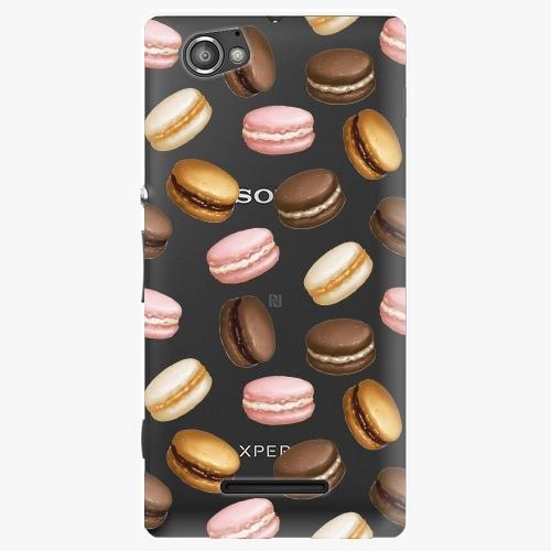 Plastový kryt iSaprio - Macaron Pattern - Sony Xperia M