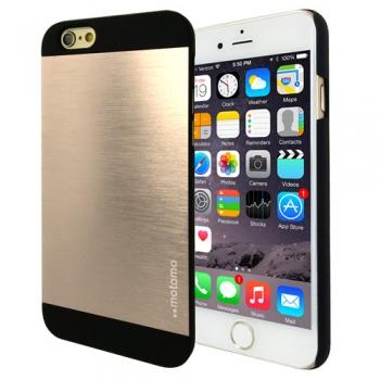 Hliníkový kryt / pouzdro Motomo pro iPhone 6 zlatý