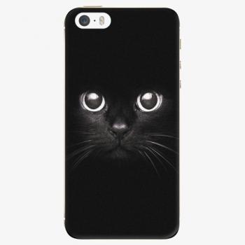 Plastový kryt iSaprio - Black Cat - iPhone 5/5S/SE