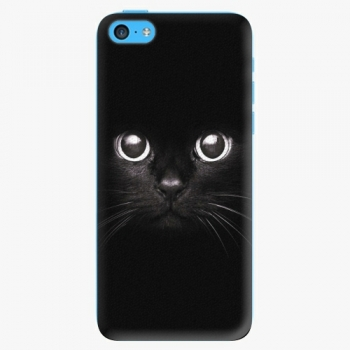 Plastový kryt iSaprio - Black Cat - iPhone 5C