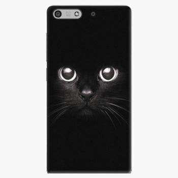 Plastový kryt iSaprio - Black Cat - Huawei Ascend P7 Mini