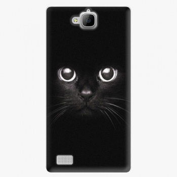 Plastový kryt iSaprio - Black Cat - Huawei Honor 3C