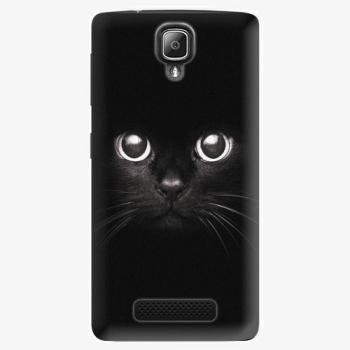 Plastový kryt iSaprio - Black Cat - Lenovo A1000