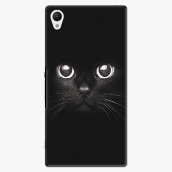 Plastový kryt iSaprio - Black Cat - Sony Xperia Z1