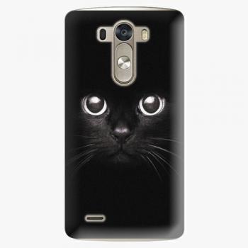 Plastový kryt iSaprio - Black Cat - LG G3 (D855)