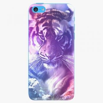 Plastový kryt iSaprio - Purple Tiger - iPhone 5C