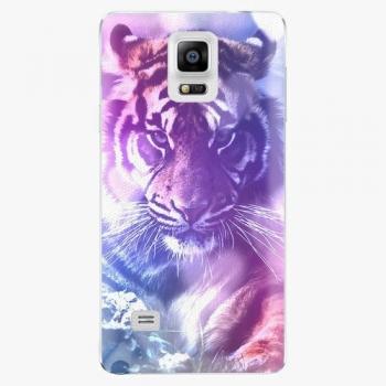 Plastový kryt iSaprio - Purple Tiger - Samsung Galaxy Note 4