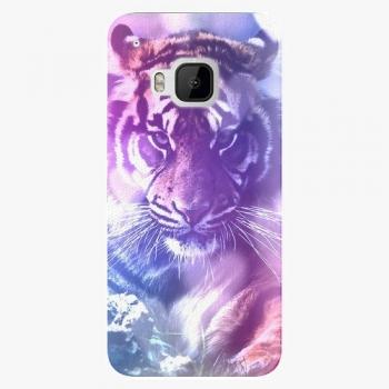 Plastový kryt iSaprio - Purple Tiger - HTC One M9