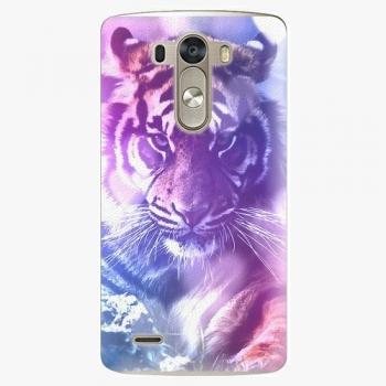Plastový kryt iSaprio - Purple Tiger - LG G3 (D855)