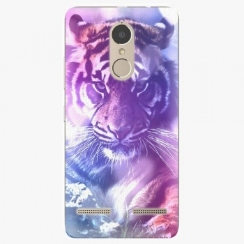 Plastový kryt iSaprio - Purple Tiger - Lenovo K6