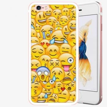 Plastový kryt iSaprio - Emoji - iPhone 6 Plus/6S Plus - Rose Gold