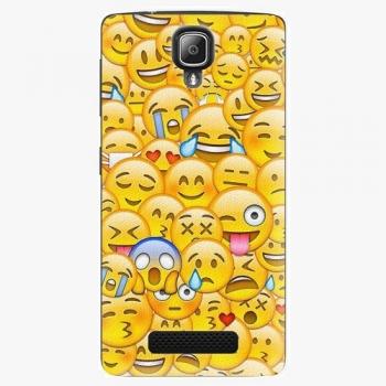 Plastový kryt iSaprio - Emoji - Lenovo A1000