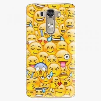 Plastový kryt iSaprio - Emoji - LG G3 (D855)