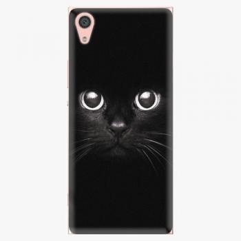 Plastový kryt iSaprio - Black Cat - Sony Xperia XA1