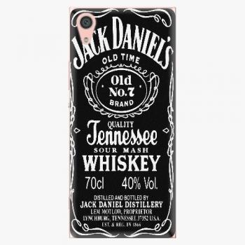 Plastový kryt iSaprio - Jack Daniels - Sony Xperia XA1