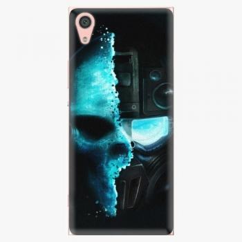 Plastový kryt iSaprio - Roboskull - Sony Xperia XA1