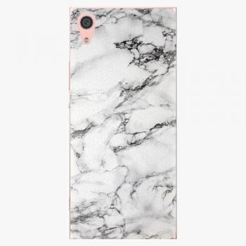 Plastový kryt iSaprio - White Marble 01 - Sony Xperia XA1