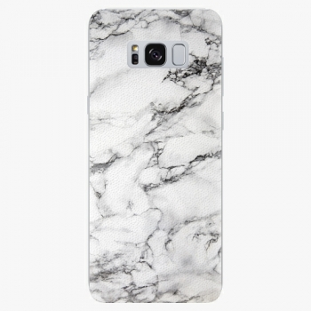 Plastový kryt iSaprio - White Marble 01 - Samsung Galaxy S8